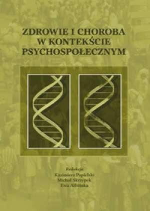 Zdrowie i choroba w kontekście - okładka książki