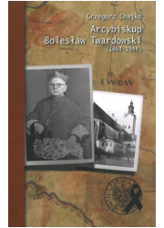 Arcybiskup Bolesław Twardowski - okładka książki