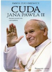 Cuda Jana Pawła II - okładka książki
