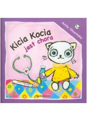 Kicia Kocia jest chora - okładka książki