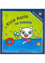 Kicia Kocia na basenie - okładka książki