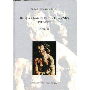 Religia i Kościół katolicki w ZSRS - okładka książki