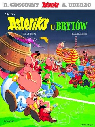 Asteriks. Album 7. Asteriks u Brytów - okładka książki