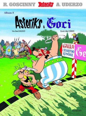 Asteriks. Album 8. Asteriks i Goci - okładka książki