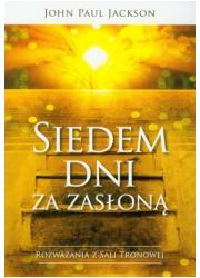 Siedem dni za zasłoną - okładka książki