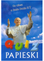 Quiz papieski - okładka książki