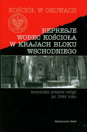 Represje wobec kościoła w krajach - okładka książki