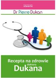 Recepta na zdrowie doktora Dukana - okładka książki