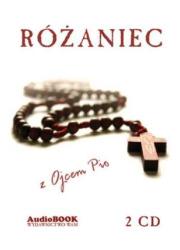Różaniec z Ojcem Pio - pudełko audiobooku
