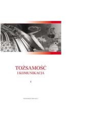 Tożsamość i komunikacja - okładka książki