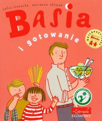 Basia i gotowanie - okładka książki