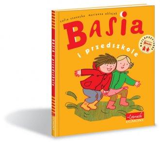 Basia i przedszkole - okładka książki