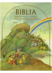 Biblia. Najpiękniejsze historie - okładka książki