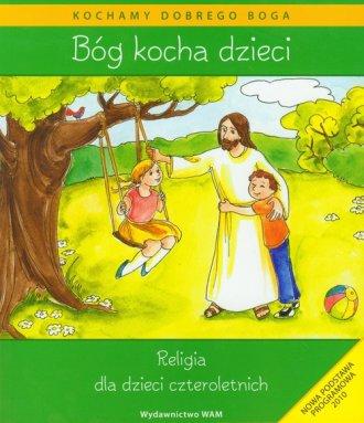 Bóg kocha dzieci - okładka książki