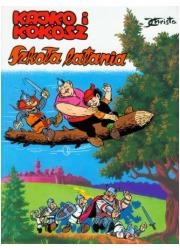 Kajko i Kokosz. Szkoła Latania - okładka książki