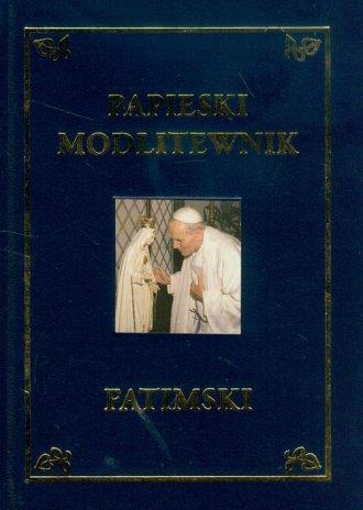 Papieski Modlitewnik Fatimski - okładka książki