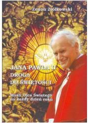 Jana Pawła II droga do świętości - okładka książki