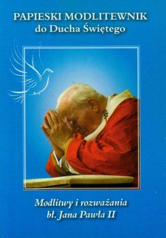 Papieski modlitewnik do Ducha Świętego - okładka książki