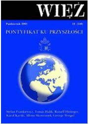 Więź nr 10/2003. Październik - okładka książki