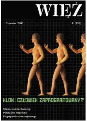 Więź nr 6/2003. Czerwiec - okładka książki
