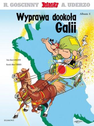 Asteriks. Album 4. Wyprawa dookoła - okładka książki