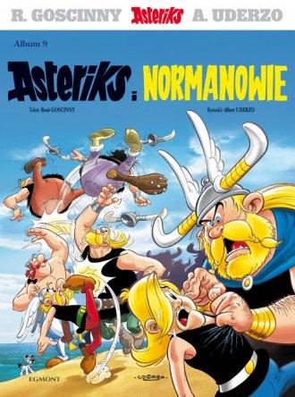 Asteriks. Album 9. Asteriks i Normanowie - okładka książki