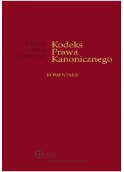 Kodeks Prawa Kanonicznego. Komentarz - okładka książki