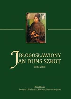 Błogosławiony Jan Duns Szkot 1308-2008 - okładka książki