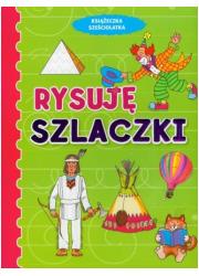Rysuję szlaczki. Książeczka sześciolatka - okładka podręcznika