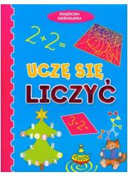 Uczę się liczyć. Książeczka sześciolatka - okładka książki