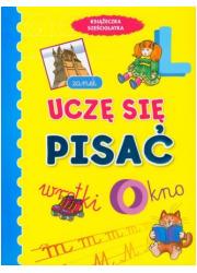 Uczę się pisać. Książeczka sześciolatka - okładka książki