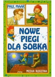 Nowe piegi dla Sobka - okładka książki
