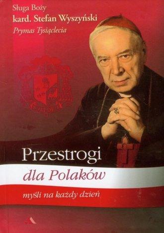Przestrogi dla Polaków. Myśli na - okładka książki