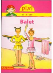 Pixi. Ja wiem! Balet. Pixi - okładka książki