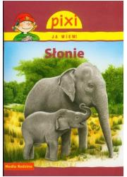 Słonie. Pixi Ja wiem - okładka książki