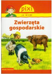 Pixi. Ja wiem! Zwierzęta gospodarskie - okładka książki