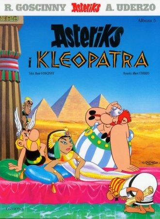 Asteriks. Album 5. Asteriks i Kleopatra - okładka książki