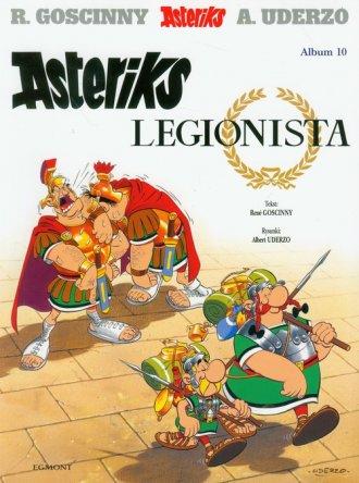 Asteriks. Album 10. Asteriks legionista - okładka książki