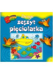 Drugi zeszyt pięciolatka. Biblioteczka - okładka książki