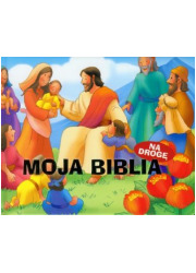 Moja Biblia. Na drogę - okładka książki