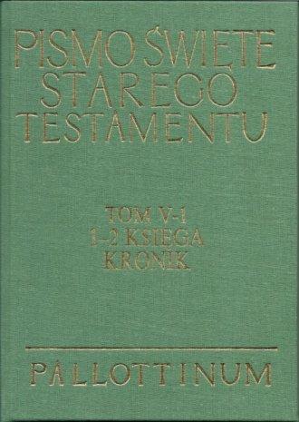 1 - 2 Księga Kronik. Komentarz - okładka książki