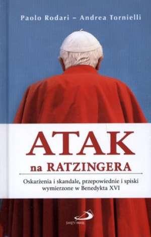 Atak na Ratzingera. Oskarżenia - okładka książki