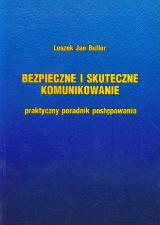 Bezpieczne i skuteczne komunikowanie - okładka książki