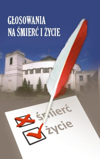 Głosowania na śmierć i życie - okładka książki