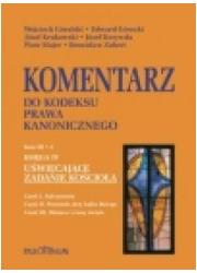 Komentarz do Kodeksu Prawa Kanonicznego. - okładka książki