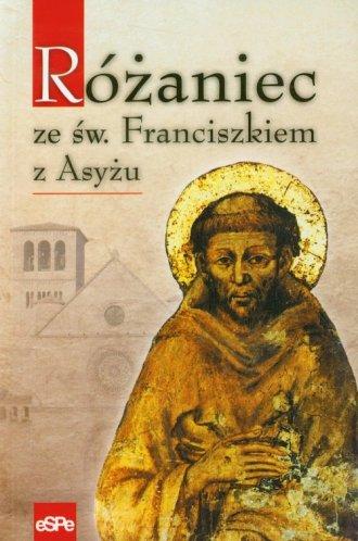 Różaniec ze świętym Franciszkiem - okładka książki