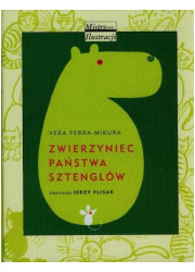 Zwierzyniec państwa Sztenlogów - okładka książki