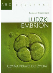 Ludzki embrion - okładka książki
