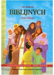 365 historii biblijnych dla dzieci - okładka książki