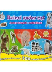 Dzieci zwierząt - okładka książki
